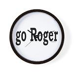 go Roger Wall Clock