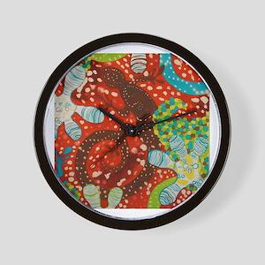 Gecko Print Wall Clock