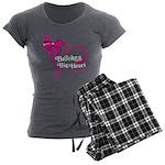 Brooke's Big Heart Women's Charcoal Pajamas