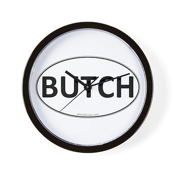BUTCH Euro Oval Wall Clock