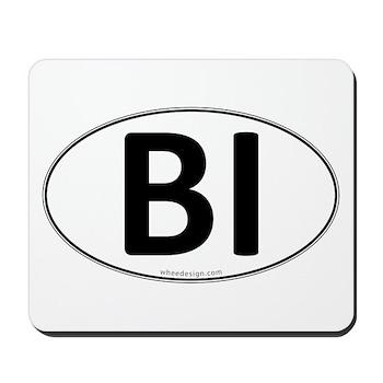 BI Euro Oval Mousepad