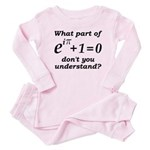 Don't Understand Euler's Equation Baby Pajamas
