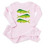 Mahi-Mahi Dolphinfish 3 Baby Pajamas