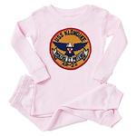 USS KLONDIKE Baby Pink Pajamas