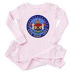 USS GUAM Baby Pajamas