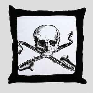 Bass Clarinet - Basset Horn S Throw Pillow