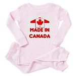 Made in Canada Baby Pajamas