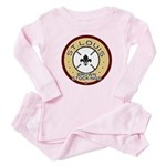 Brown Stockings Logo Baby Pajamas