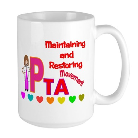 physical therapy Large Mug