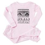 HUMAN BEATBOX - Retro 80s Baby Pajamas