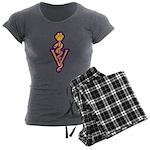 VET! Women's Charcoal Pajamas