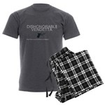 Dishonorable Vendetta Men's Charcoal Pajamas