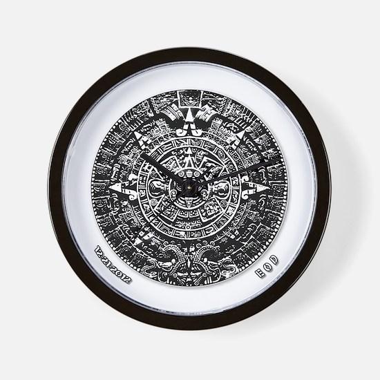 12-21-2012 Mayan Calendar Wall Clock