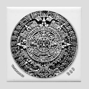 12-21-2012 Mayan Calendar Tile Coaster
