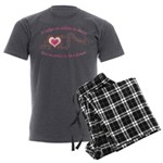 It Takes An Athlete To Dance Men's Charcoal Pajama