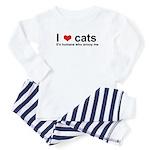 ILoveCats Baby Pajamas