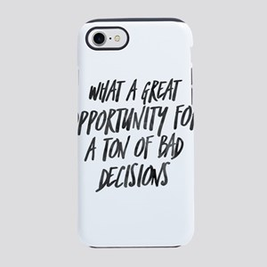My Favorite Murder Bad Decisio iPhone 7 Tough Case