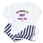 First Father's Day Baby Pajamas