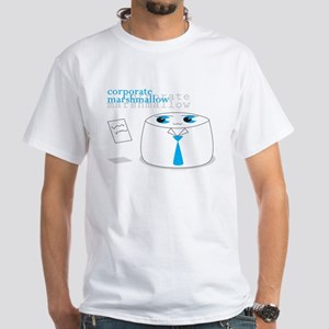 Cute Corporate Anime Marshmal White T-Shirt