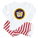 USS ALEXANDRIA Baby Pajamas