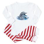 Happy Dolphin Baby Pajamas