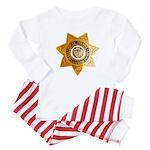 San Bernardino County Sheriff Baby Pajamas