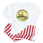 Remember the Maine Baby Pajamas