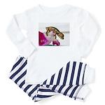 baby chameleon Baby Pajamas, Lovein