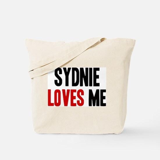 Sydnie loves me Tote Bag