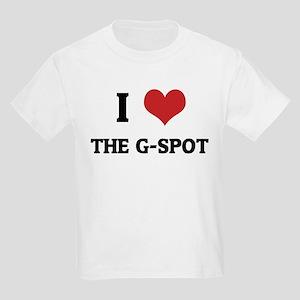 I Love The G-Spot Kids T-Shirt
