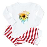 Stoked Surfer - Baby Pajamas