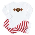 Celtic Knotwork Enamel Baby Pajamas