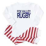 Fox Valley Rugby Baby Pajamas