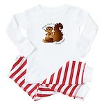 Bright Eyed & Bushy Tailed - Baby Pajamas