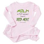 Milk Baby Pajamas