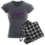 Have You Hugged My Women's Charcoal Pajamas