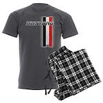 Mustang BWR Men's Charcoal Pajamas