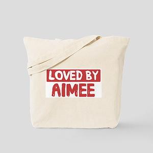 Loved by Aimee Tote Bag