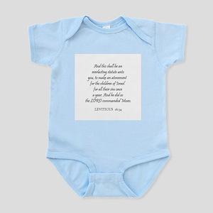 LEVITICUS  16:34 Infant Creeper
