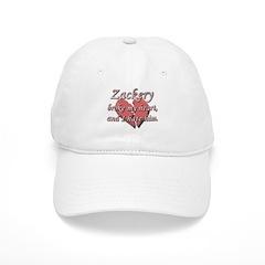 Zackery broke my heart and I hate him Baseball Cap