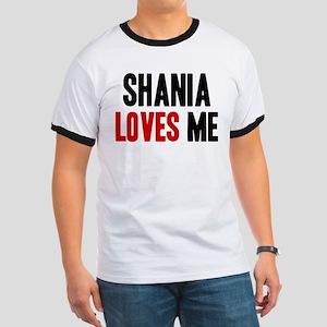 Shania loves me Ringer T