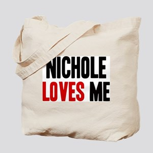 Nichole loves me Tote Bag