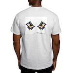 Enjoey Eyes - Ash Grey T-Shirt