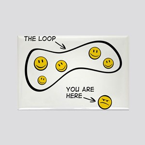 The Loop: Rectangle Magnet