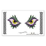 Enjoey Eyes - Rectangle Sticker