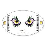 Enjoey Eyes - Oval Sticker