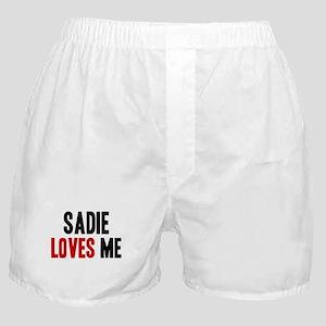 Saige loves me Boxer Shorts