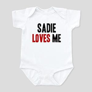 Saige loves me Infant Bodysuit