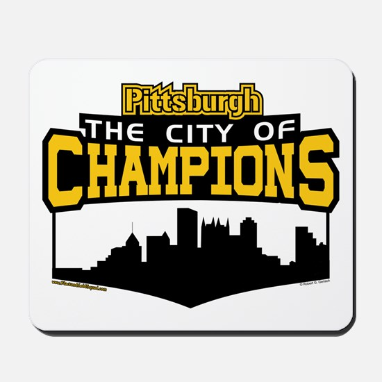 The City of Champions Mousepad