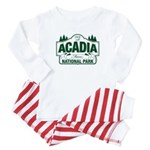 Acadia National Park Baby Pajamas